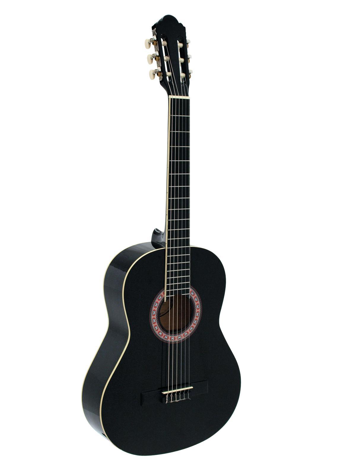 Chitarra Classica 4/4, colore nero, DIMAVERY AC-303
