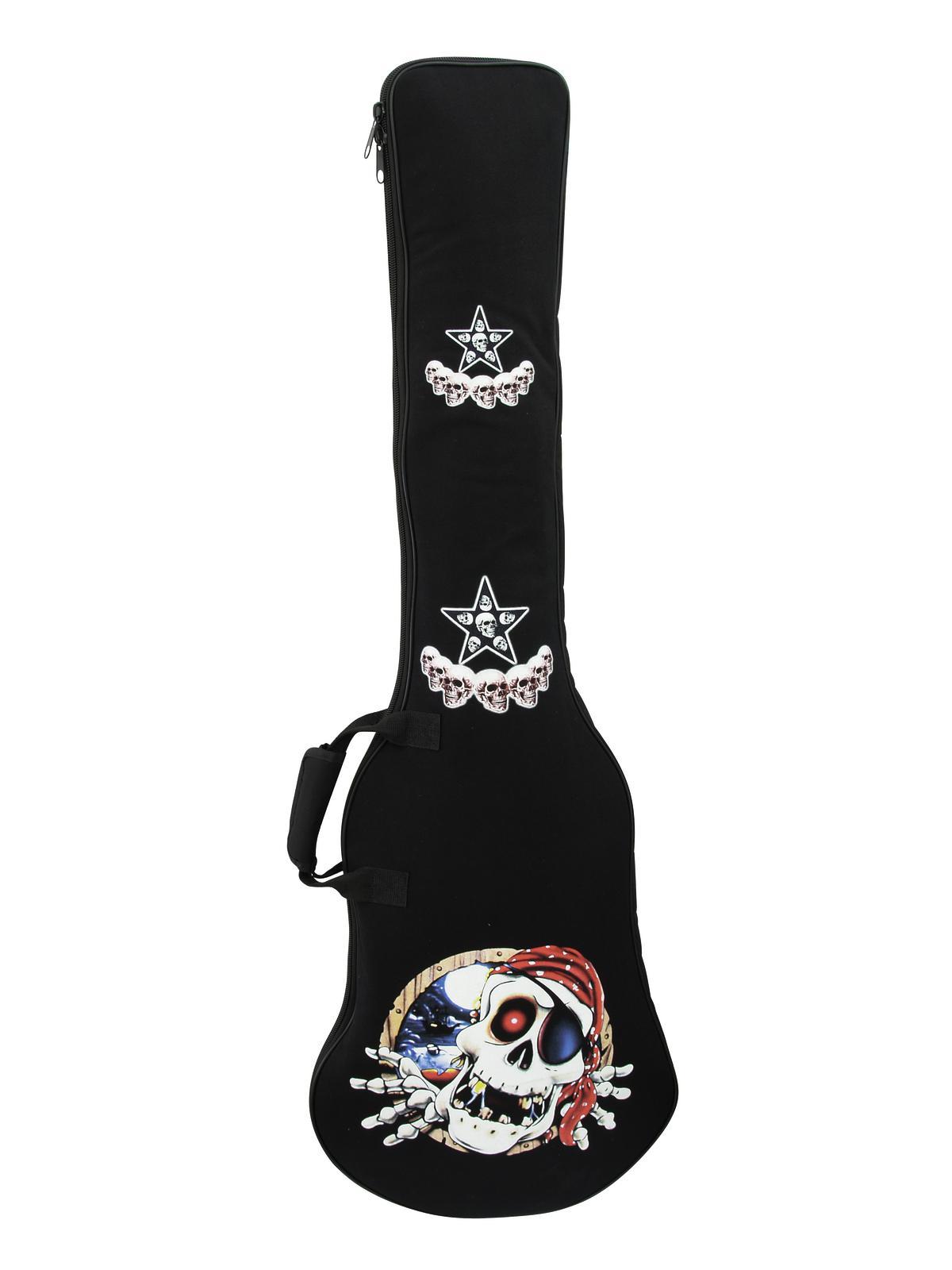 Borsa Custodia Bag per Basso in nylon 600D imbottitura 10mm con zip e tracolle