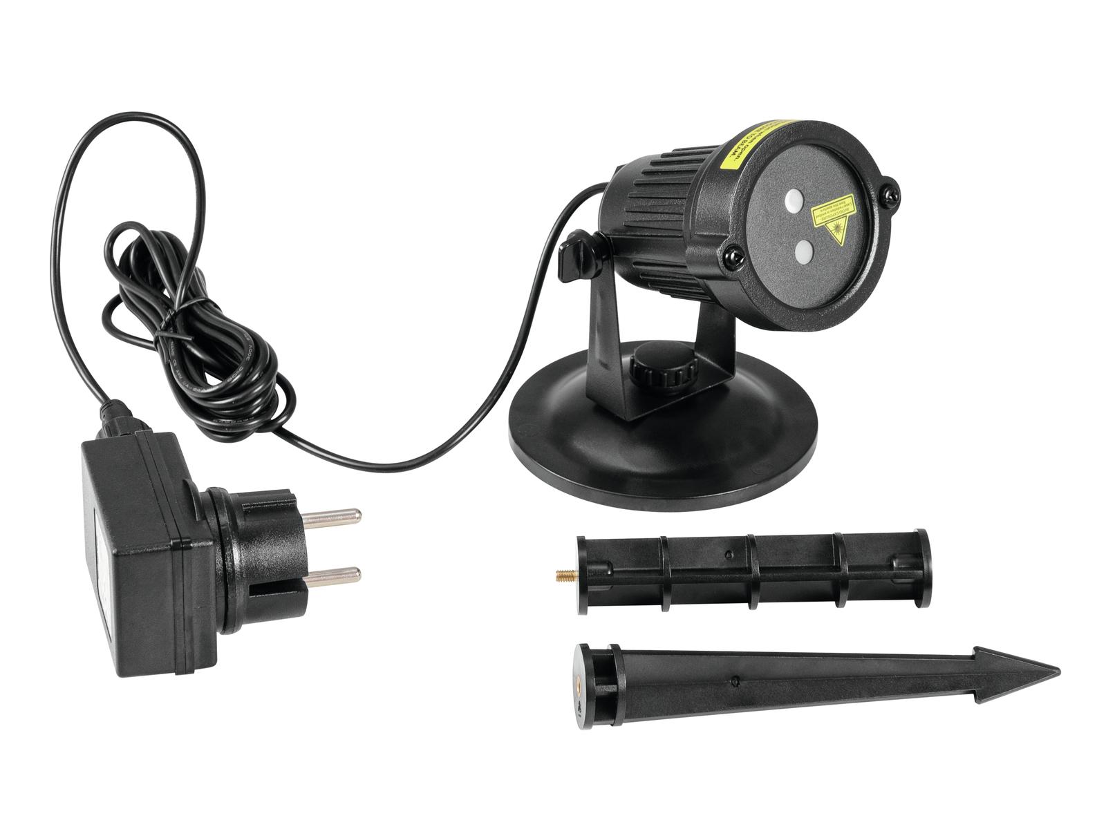 EUROLITE LAS-16 IP Giardino Laser Dot RG