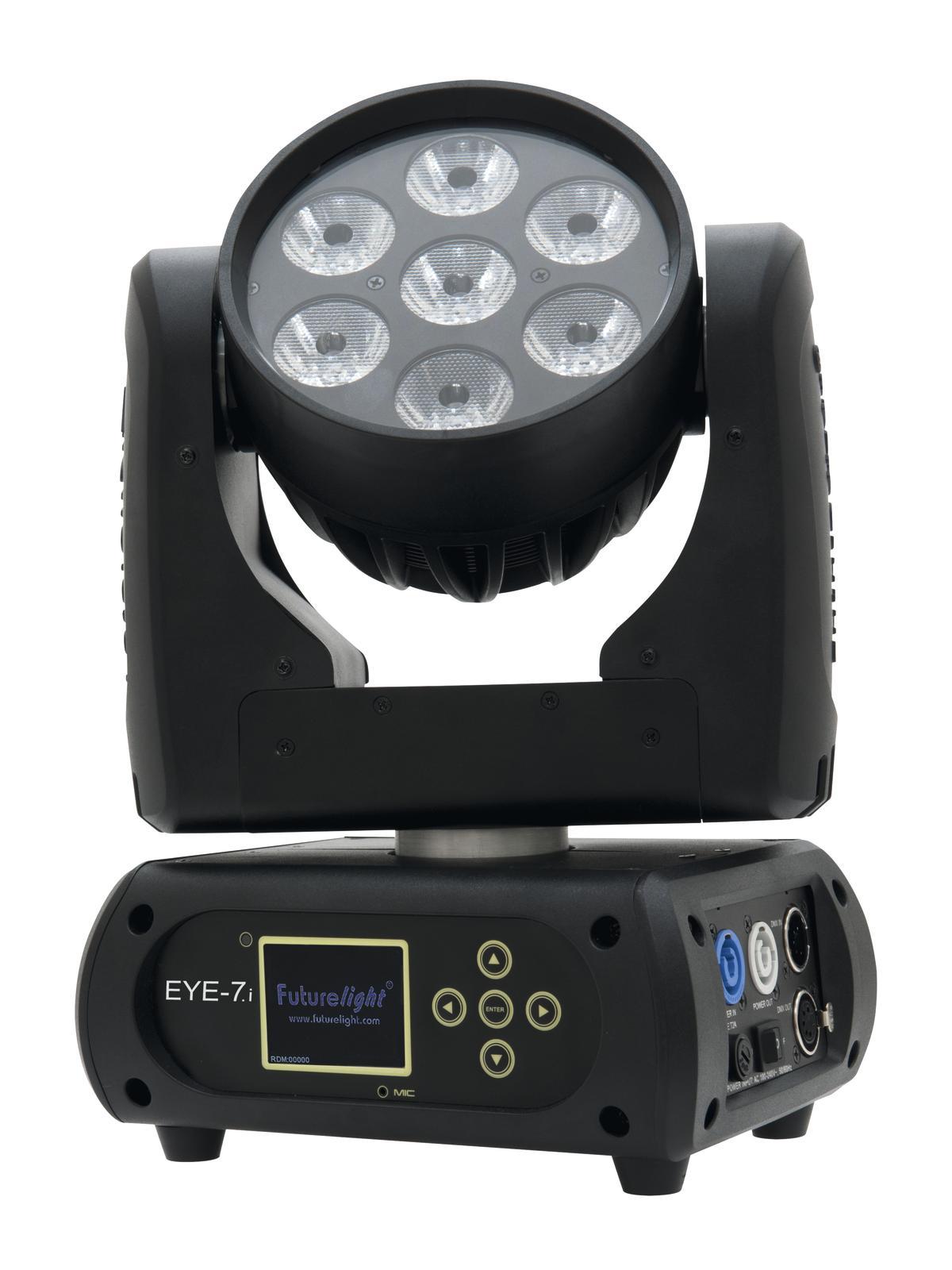Testa mobile Moving Head Beam FUTURELIGHT EYE-7.i LED Moving Head Beam DMX 110W