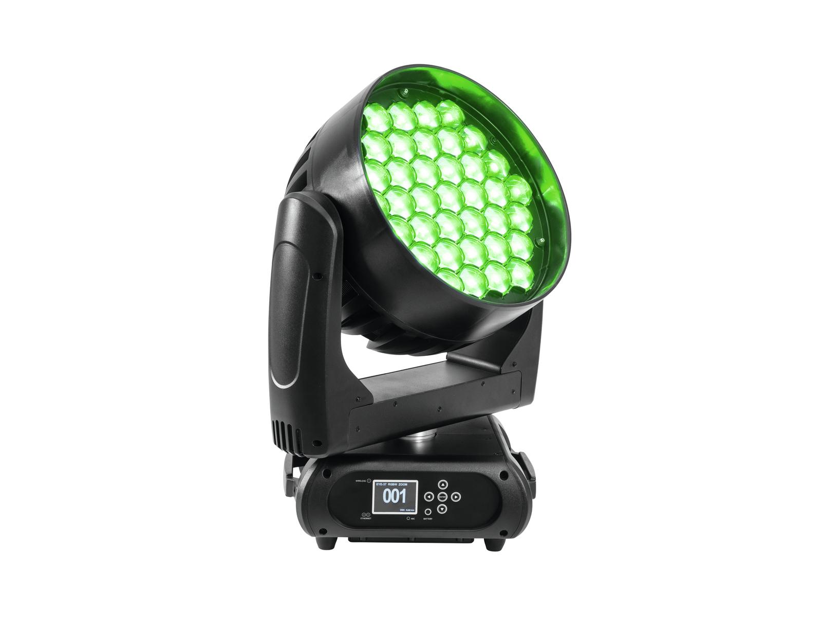 FUTURELIGHT EYE-37 RGBW Zoom LED Moving-Head Wash
