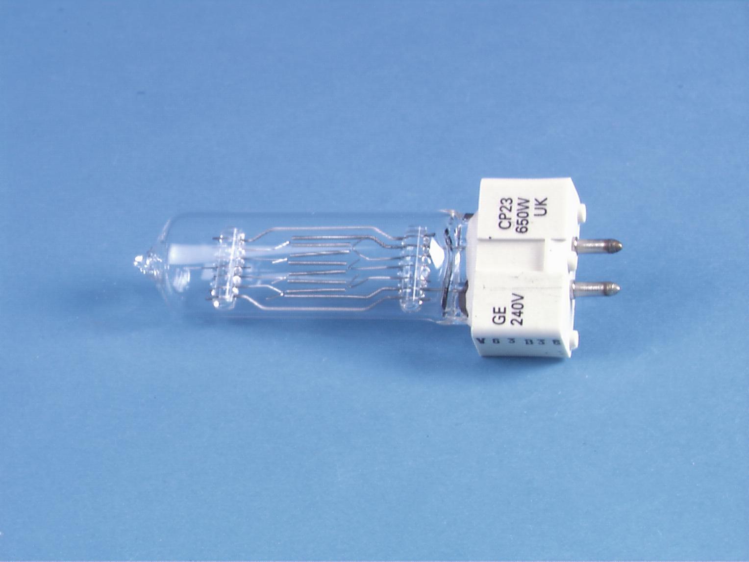 GE CP23 240V/GX 650W-9.5 100h 3200K