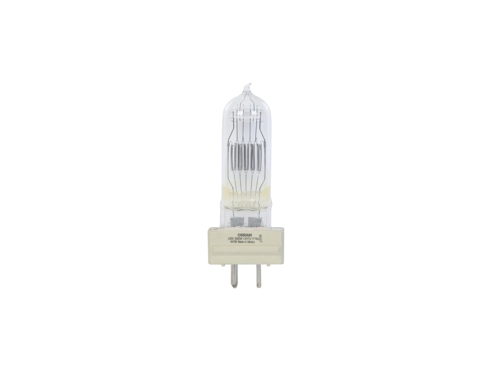 OSRAM 64788 230V/2000W GY-16 400h 3200K