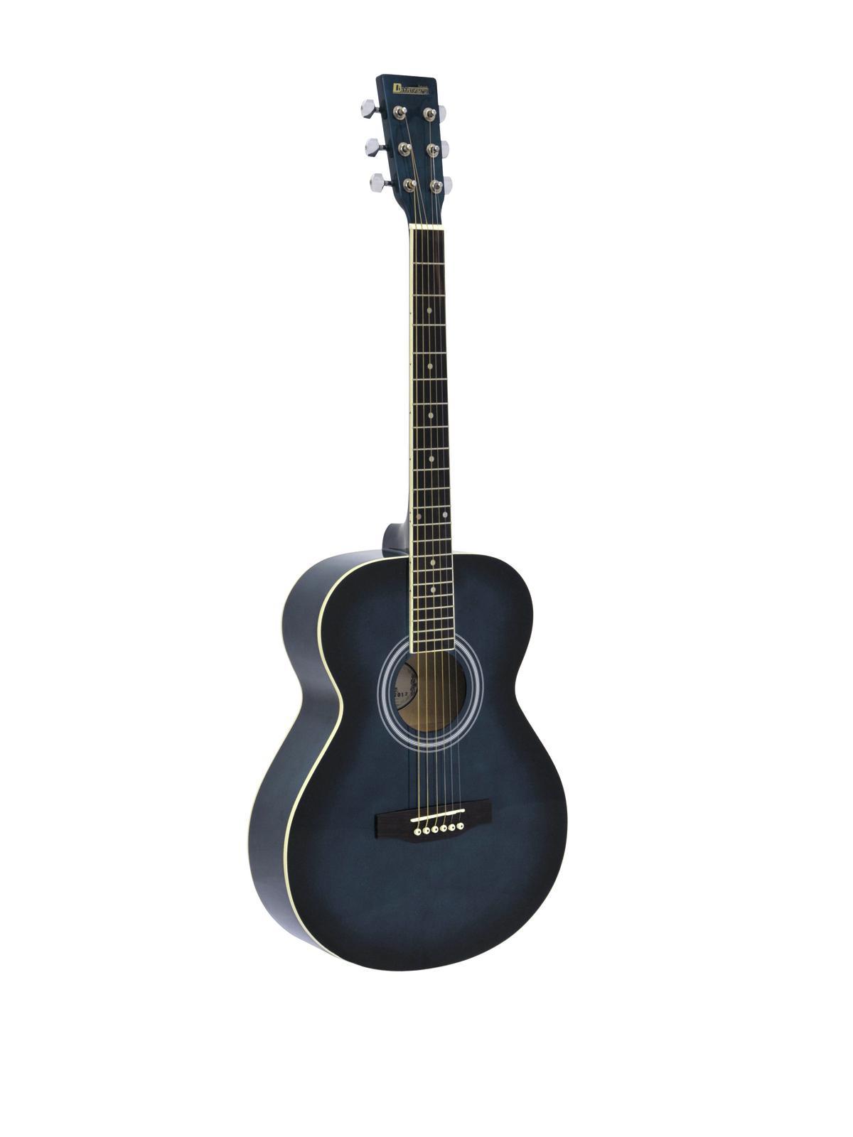 DIMAVERY AW-303 Westerngitarre blauburst