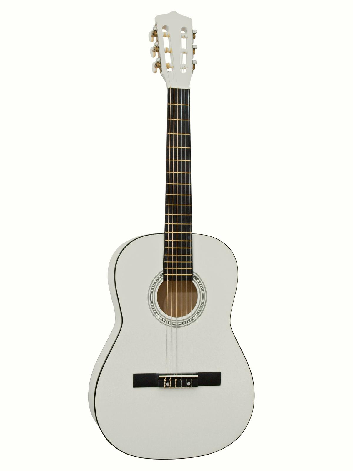 DIMAVERY AC-303 Klassikgitarre 3/4, weiß