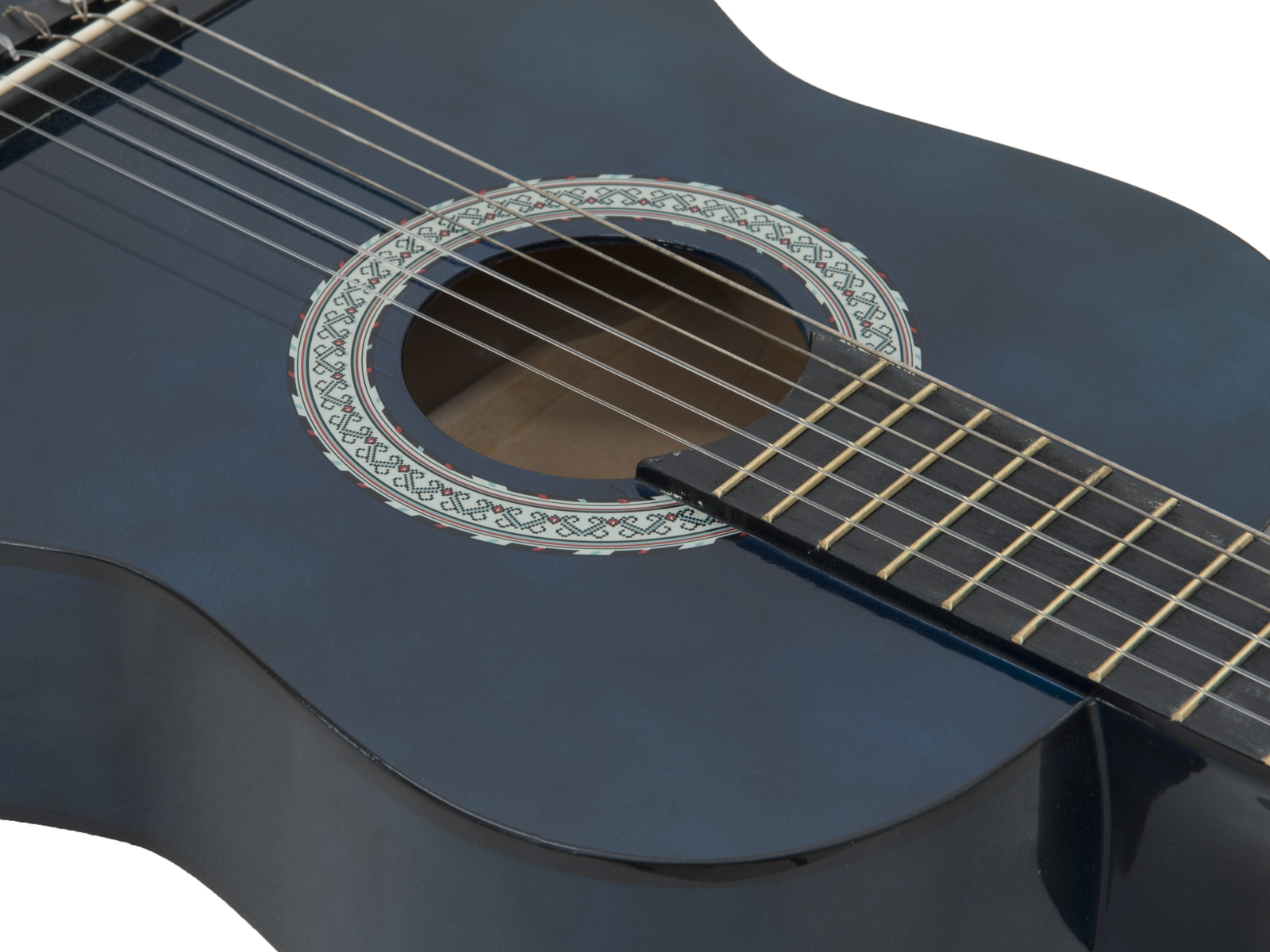 DIMAVERY AC-303 Chitarra Classica 3/4, blu