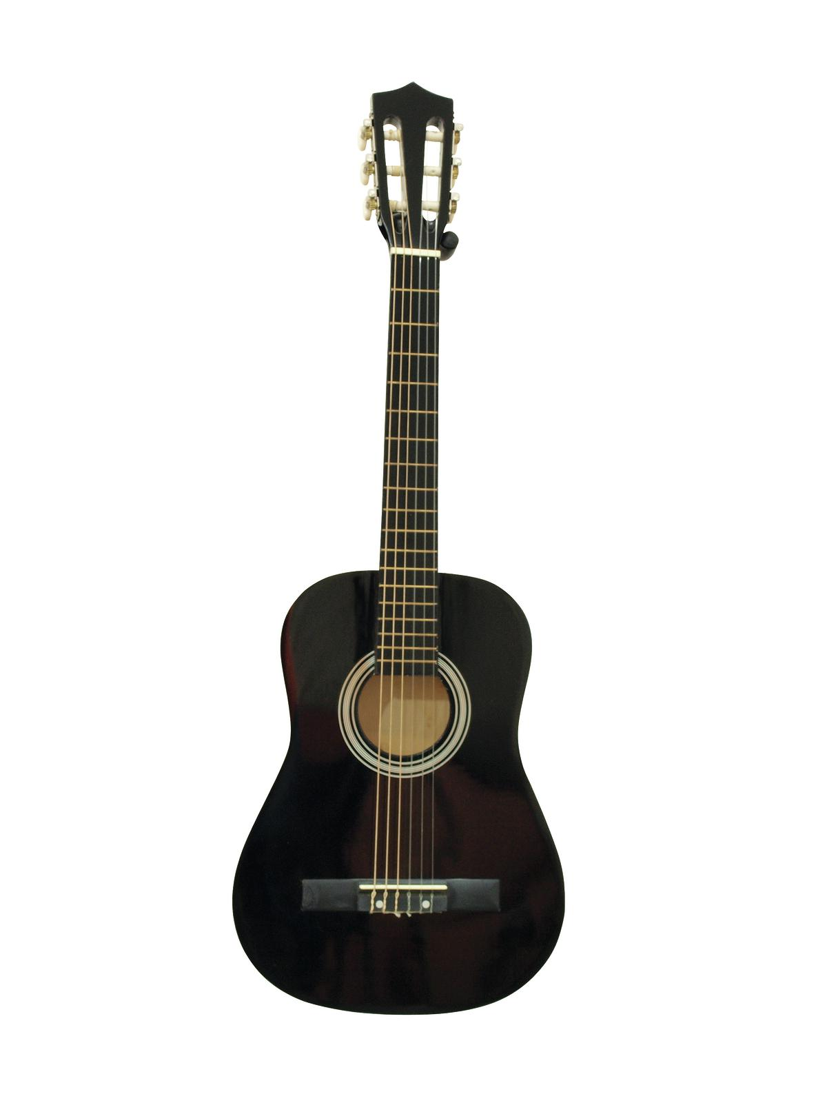 DIMAVERY AC-303 Klassikgitarre 1/2, sw