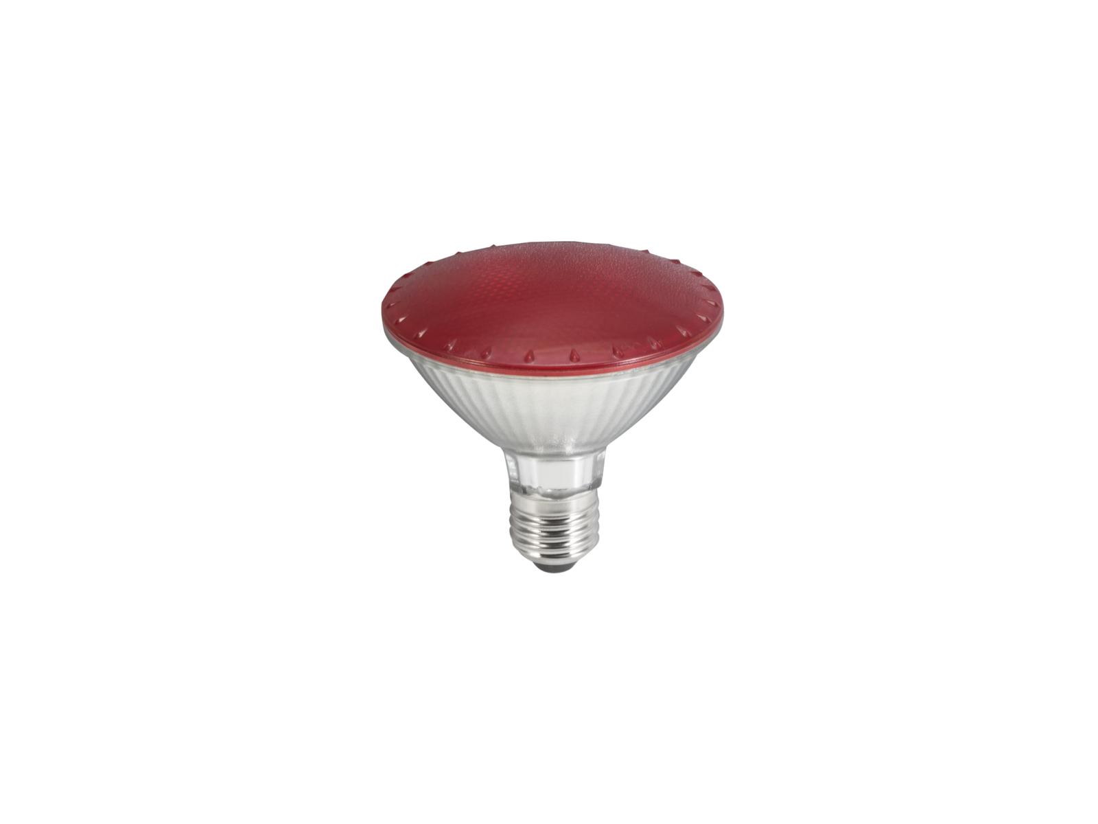 OMNILUX PAR-30 230V SMD 11W E-27 LED rot