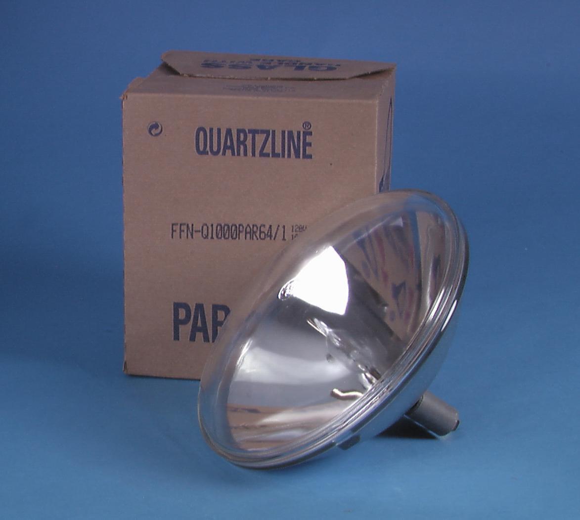 Lampada Faro GE FFN PAR-64 120V/1000W VNSP 800h 3200 K,