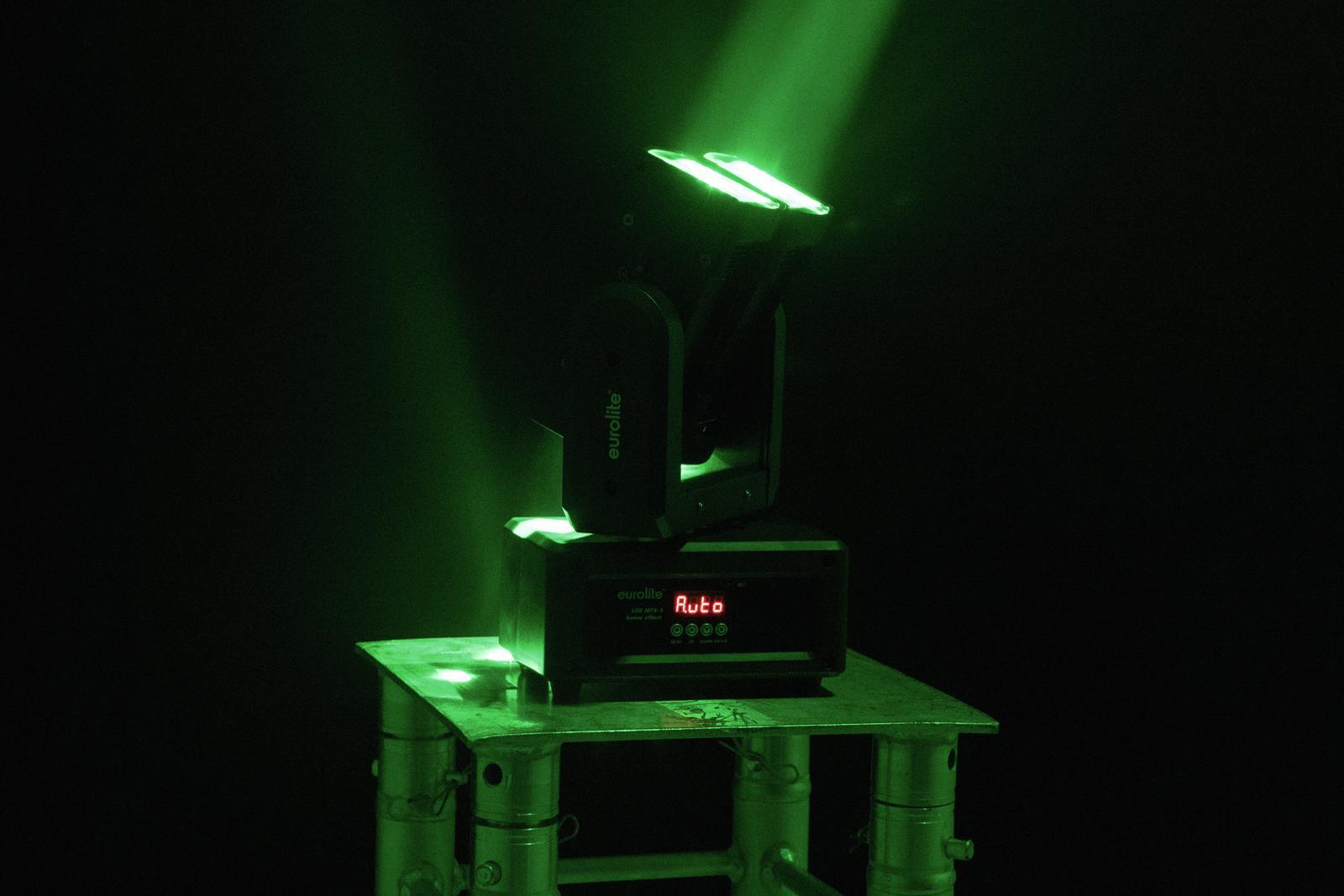 Effetto luce Light per Dj a led DMX Eurolite Beam Effect MFX-2