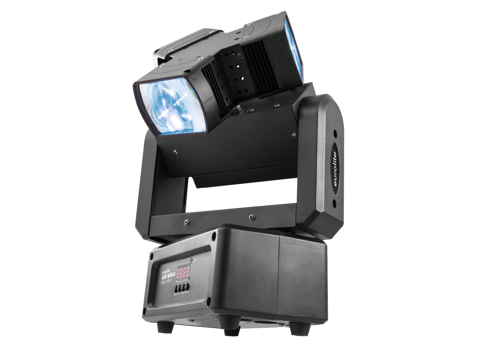 Effetto luce Light per Dj a led DMX Eurolite Beam Effect MFX-6
