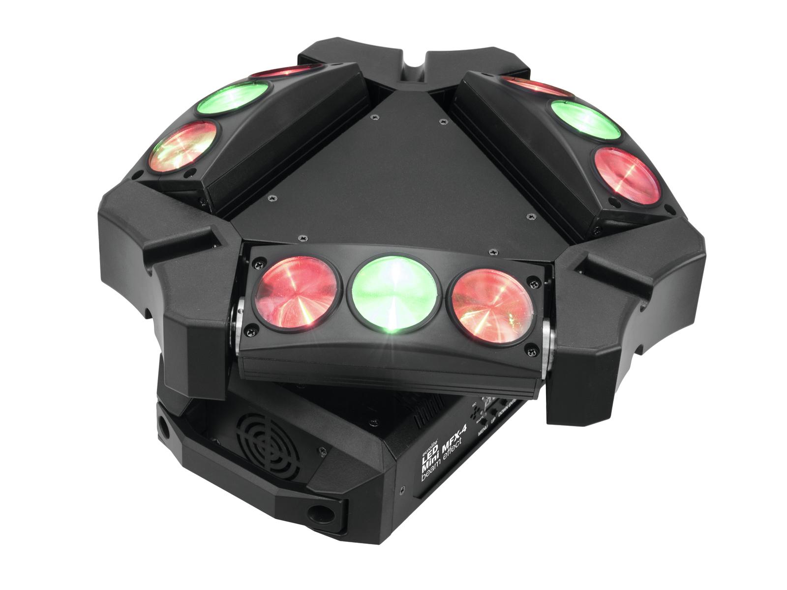 EUROLITE LED Mini MFX-4 Effetto del Fascio