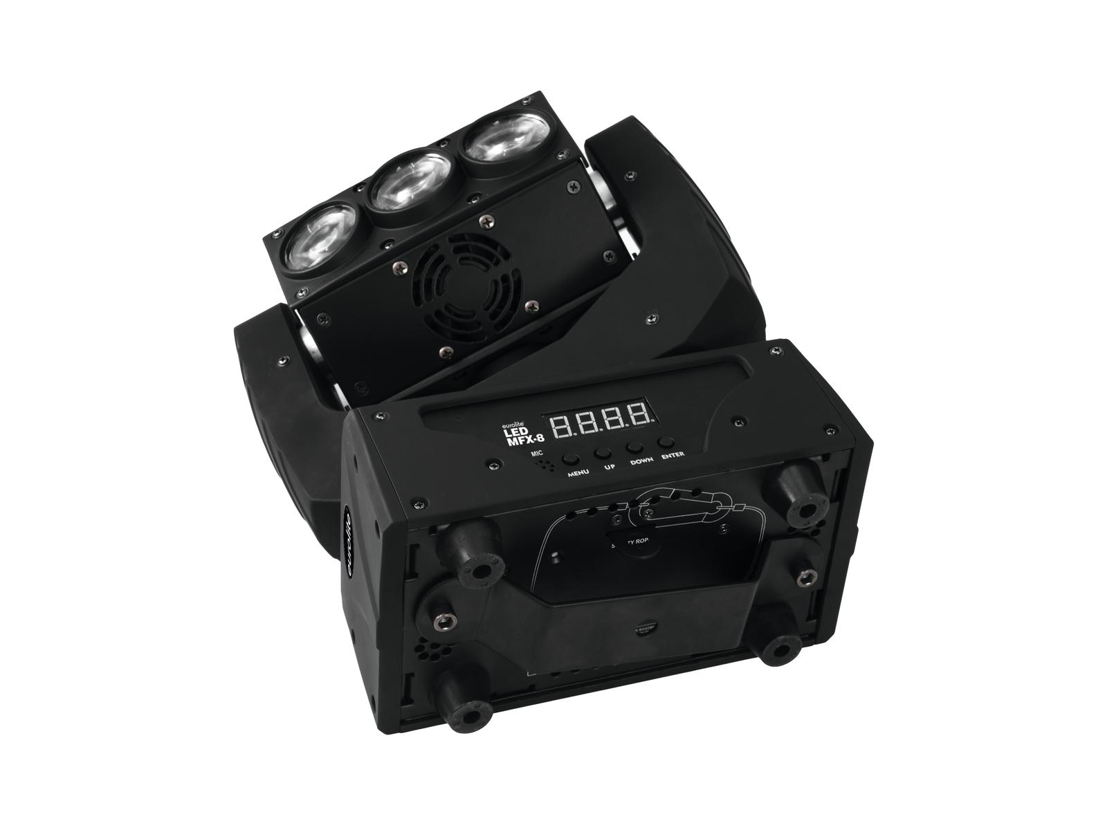Barra A Led Testa Mobile Moving Head Wash LED MFX-8 DMX 130Watt Eurolite