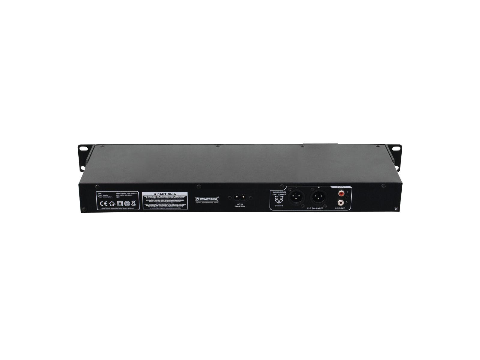 OMNITRONIC DMP-102 USB/SD-Card-Player