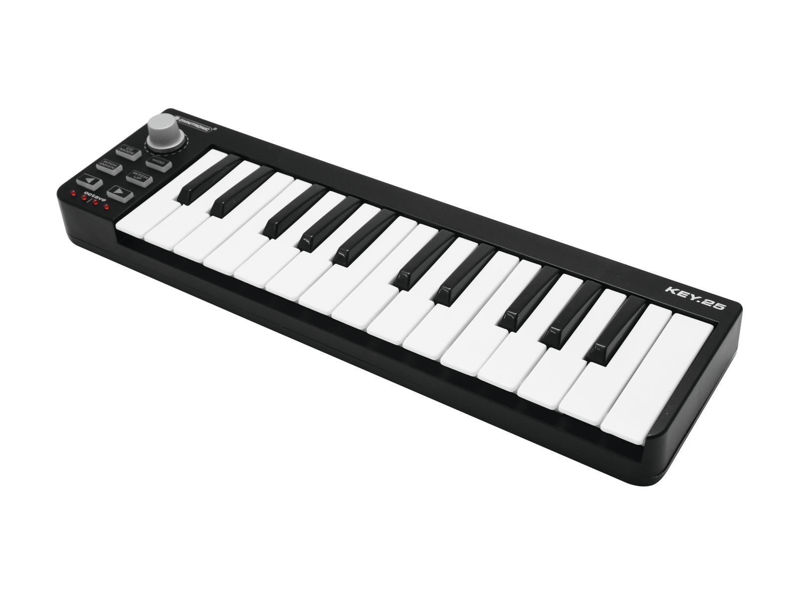 MIDI keyboard controller 25-ke