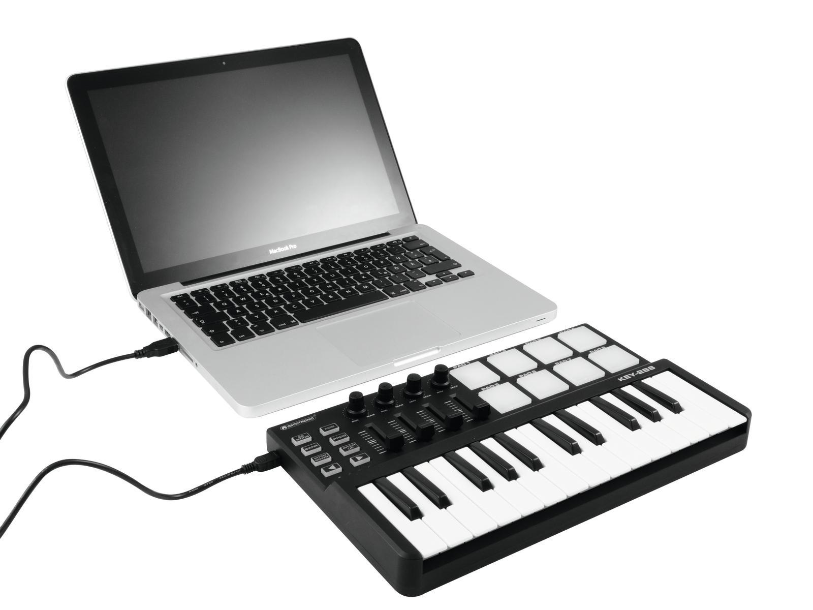 OMNITRONIC KEY-288 MIDI-Controller