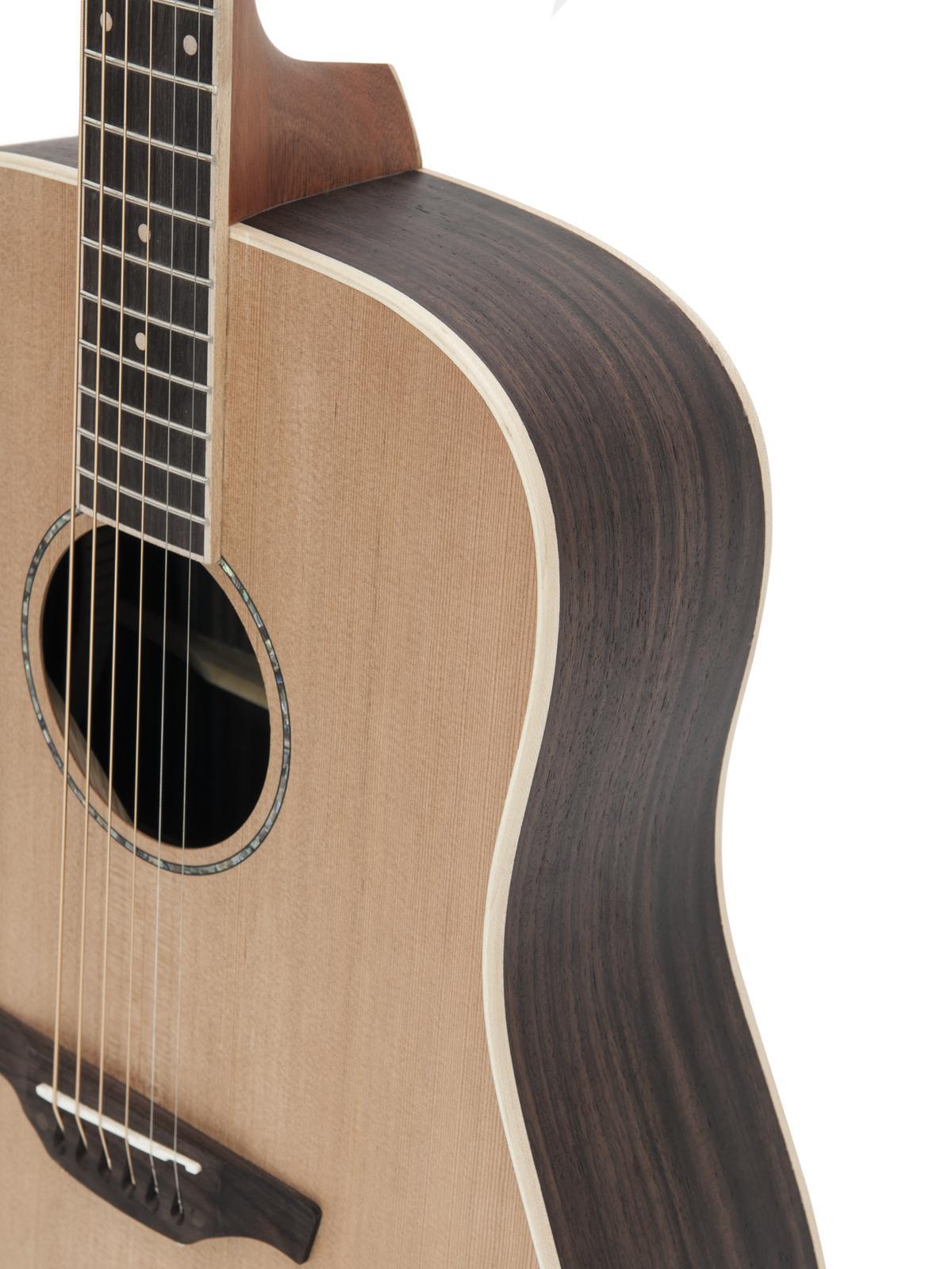 Chitarra acustica, western, colore nature, abete solido, DIMAVERY PWS-41