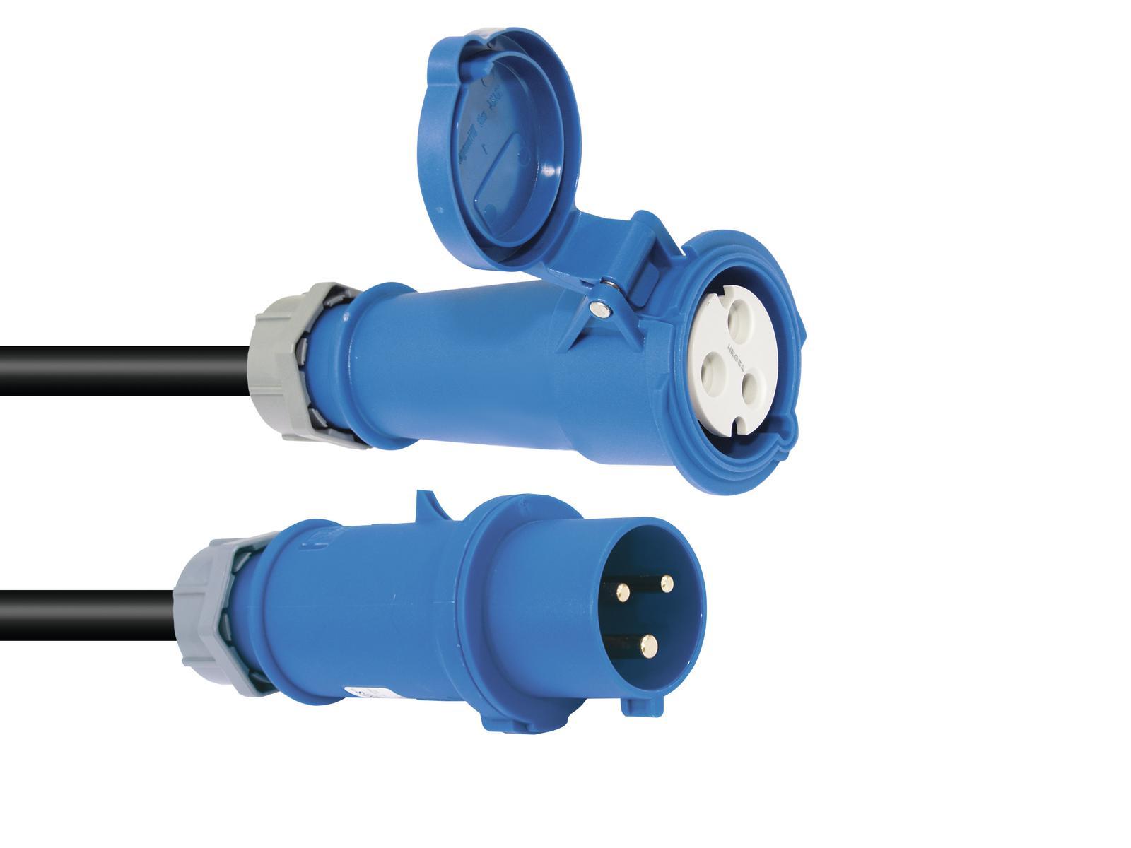 Extension PSSO CEE 32A 3x6,0 mm 5MT blue