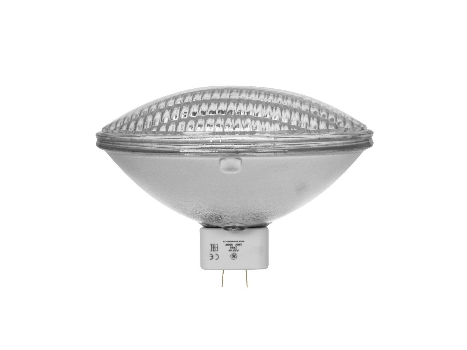 Lampada Faro GE CP88 PAR-64/240V 500W MFL 300h 3200 K,