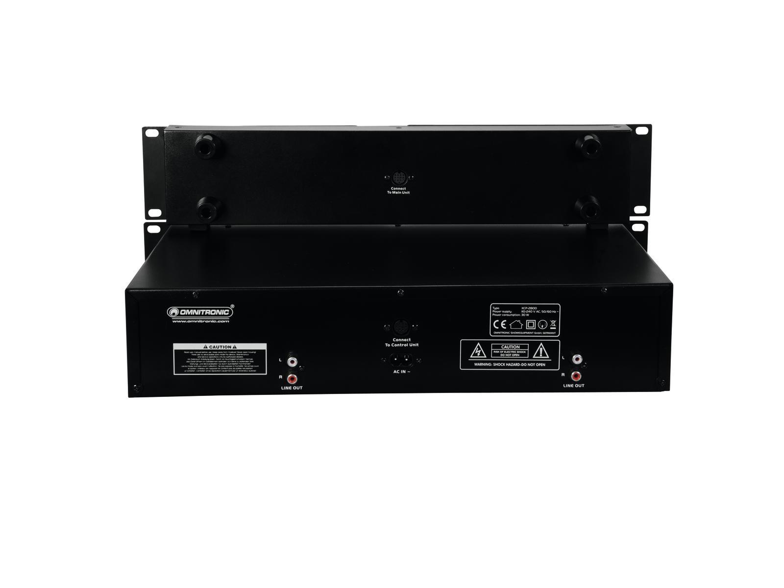 OMNITRONIC XCP-2800 Dual-CD-Player