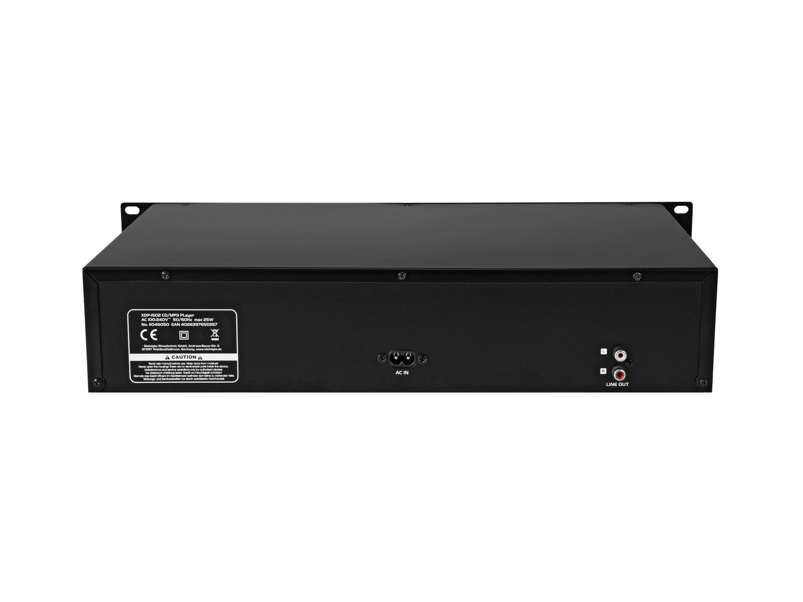 OMNITRONIC XDP-1502 CD-/MP3-Player