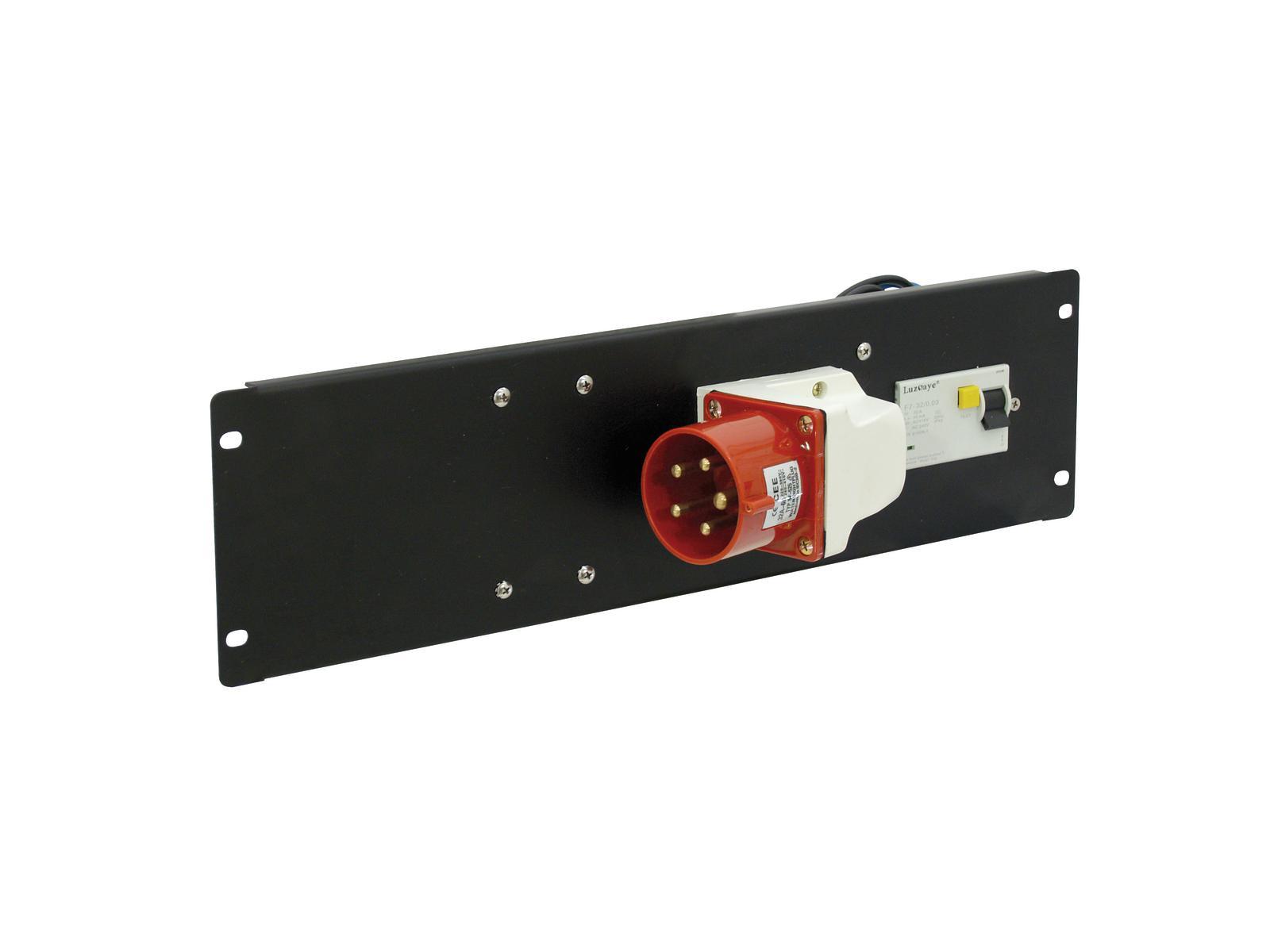 Power distributor EUROLITE with 1 socket CEE 32 A, 5 pin