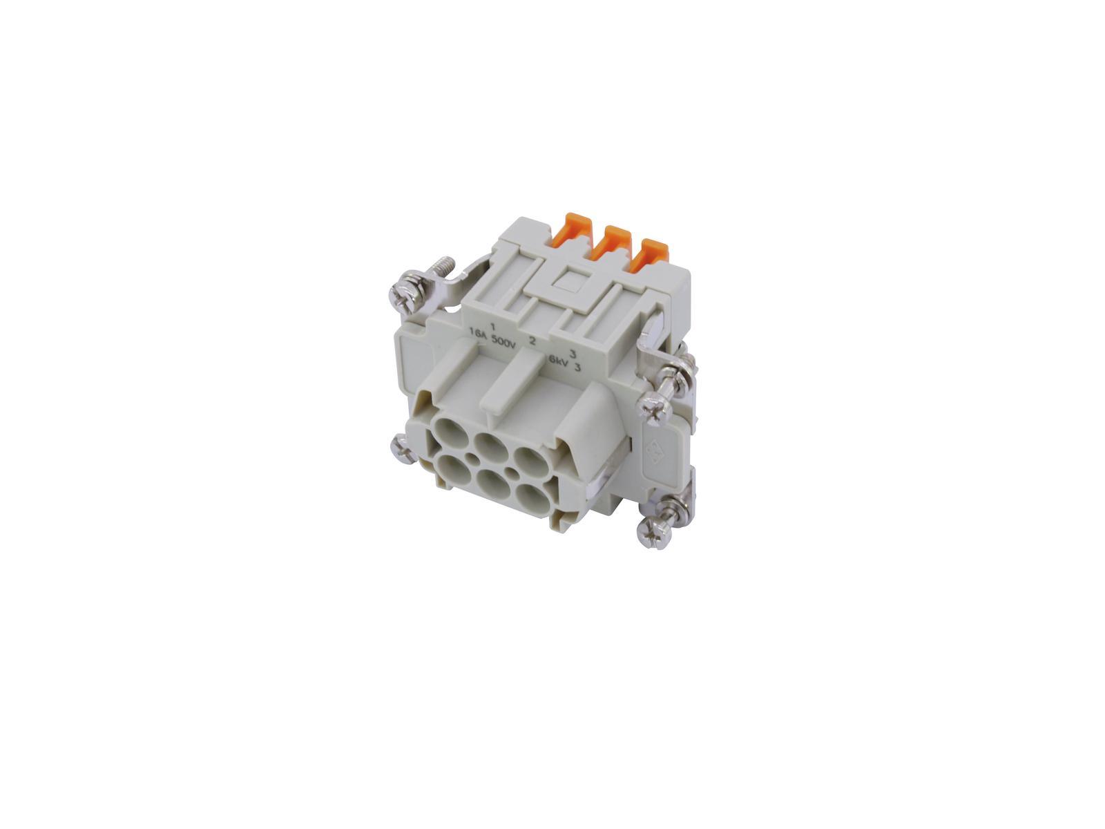 ILME SQUICH Steckdoseneinsatz 6-pol 16A 500V