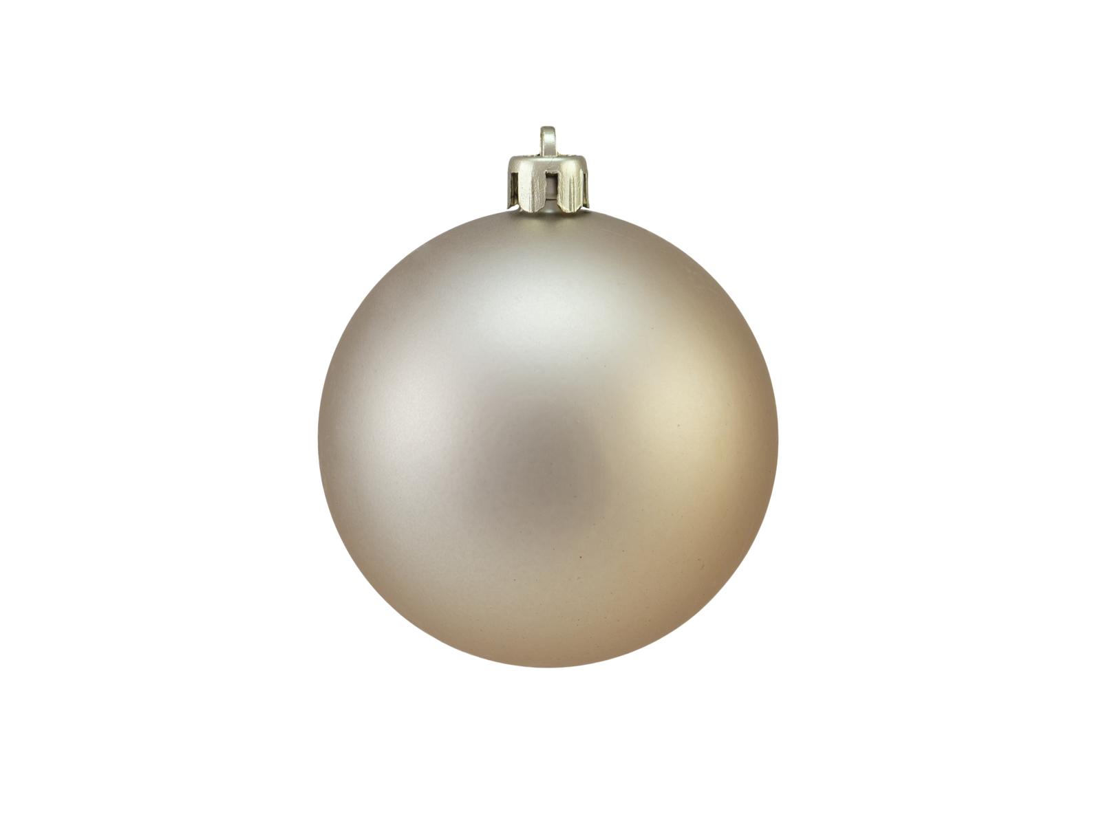 Balls Balls christmas plastic 7Cm for Tree decoration 6 pcs Copper metal