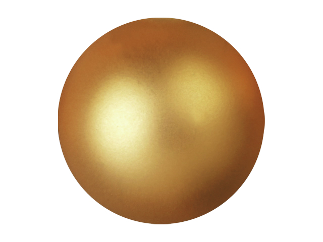 EUROPALMS Decoball 3,5 cm, oro, metallizzato 48x