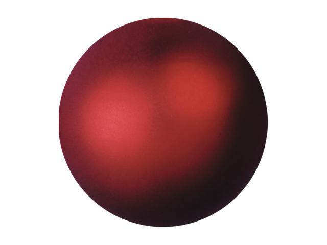 EUROPALMS Decoball 3,5 cm, rosso, metallizzato 48x