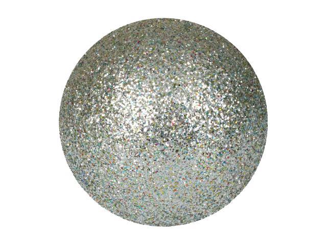EUROPALMS Decoball 3,5 cm, argento, glitter 48x