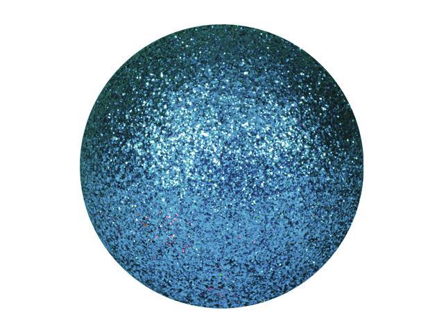 EUROPALMS Decoball 3,5 cm, blu, glitter 48x