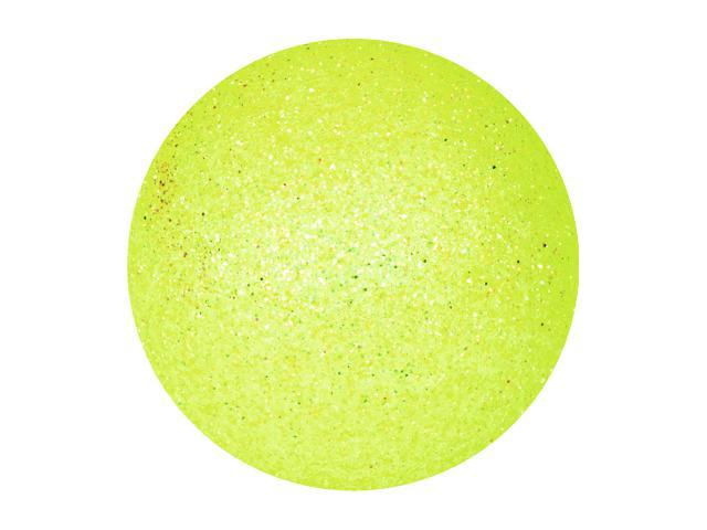 EUROPALMS Decoball 3,5 cm, limone, glitter 48x