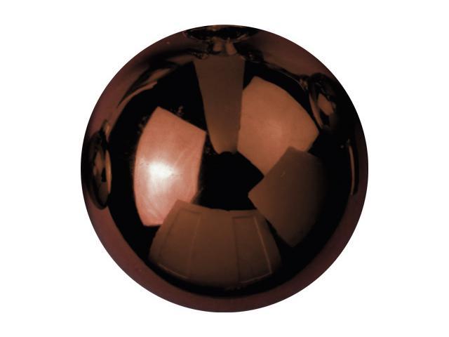 EUROPALMS Decoball 3,5 cm, marrone, lucido 48x
