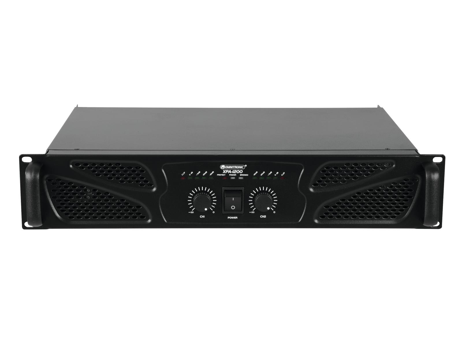 OMNITRONIC XPA-1200 Endstufe