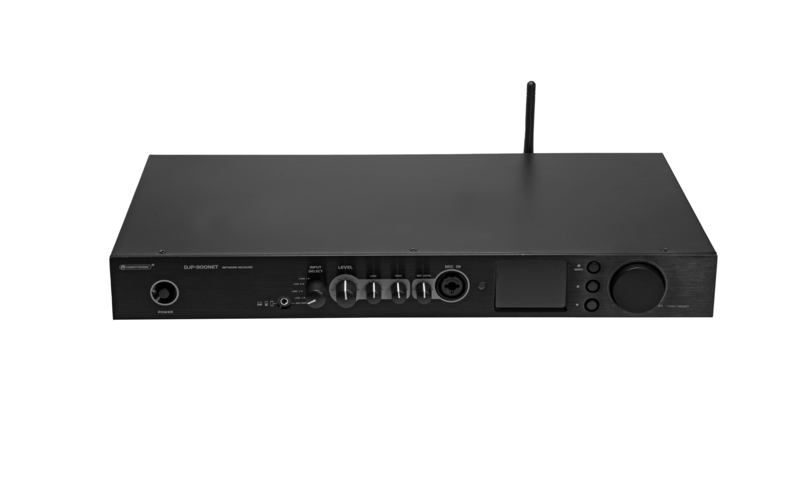 OMNITRONIC DJP-900NET Class-D Verstärker mit Internetradio