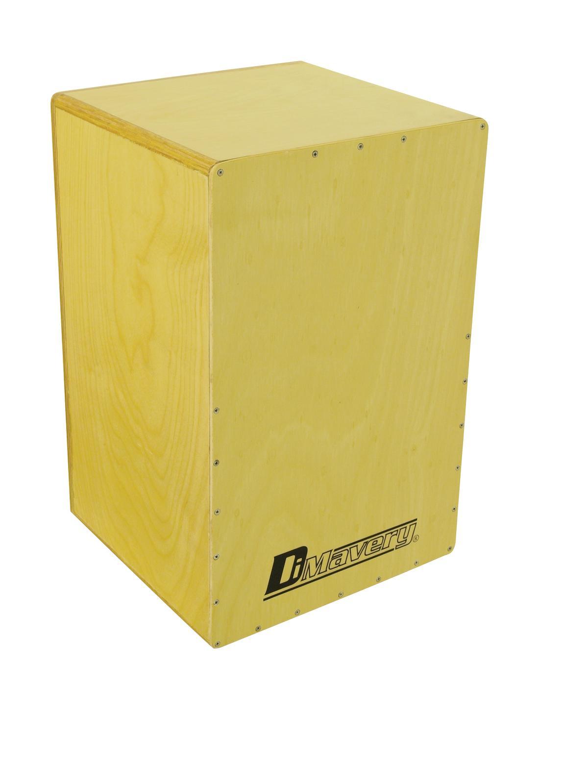 Cajon percussioni professionali in legno, nature DIMAVERY CJ-100