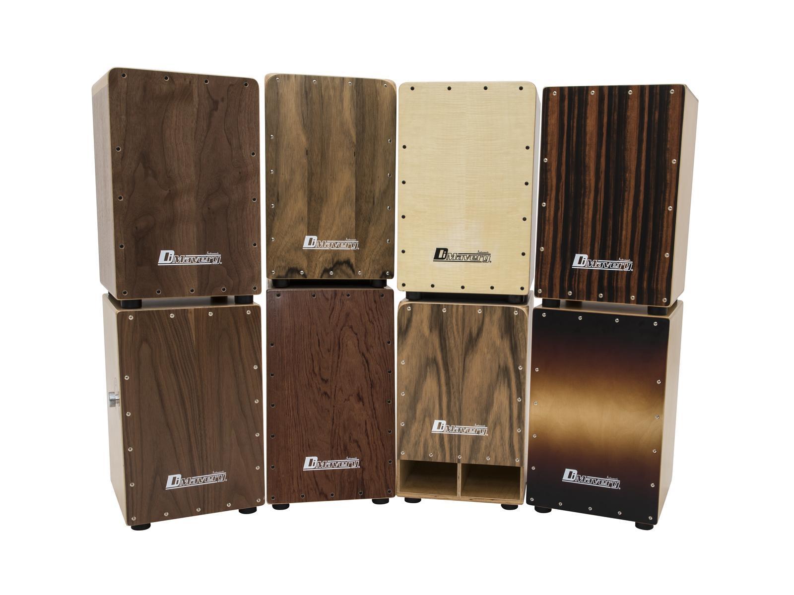 Cajon percussioni professionali in legno, betulla, sunburst DIMAVERY CJ-510