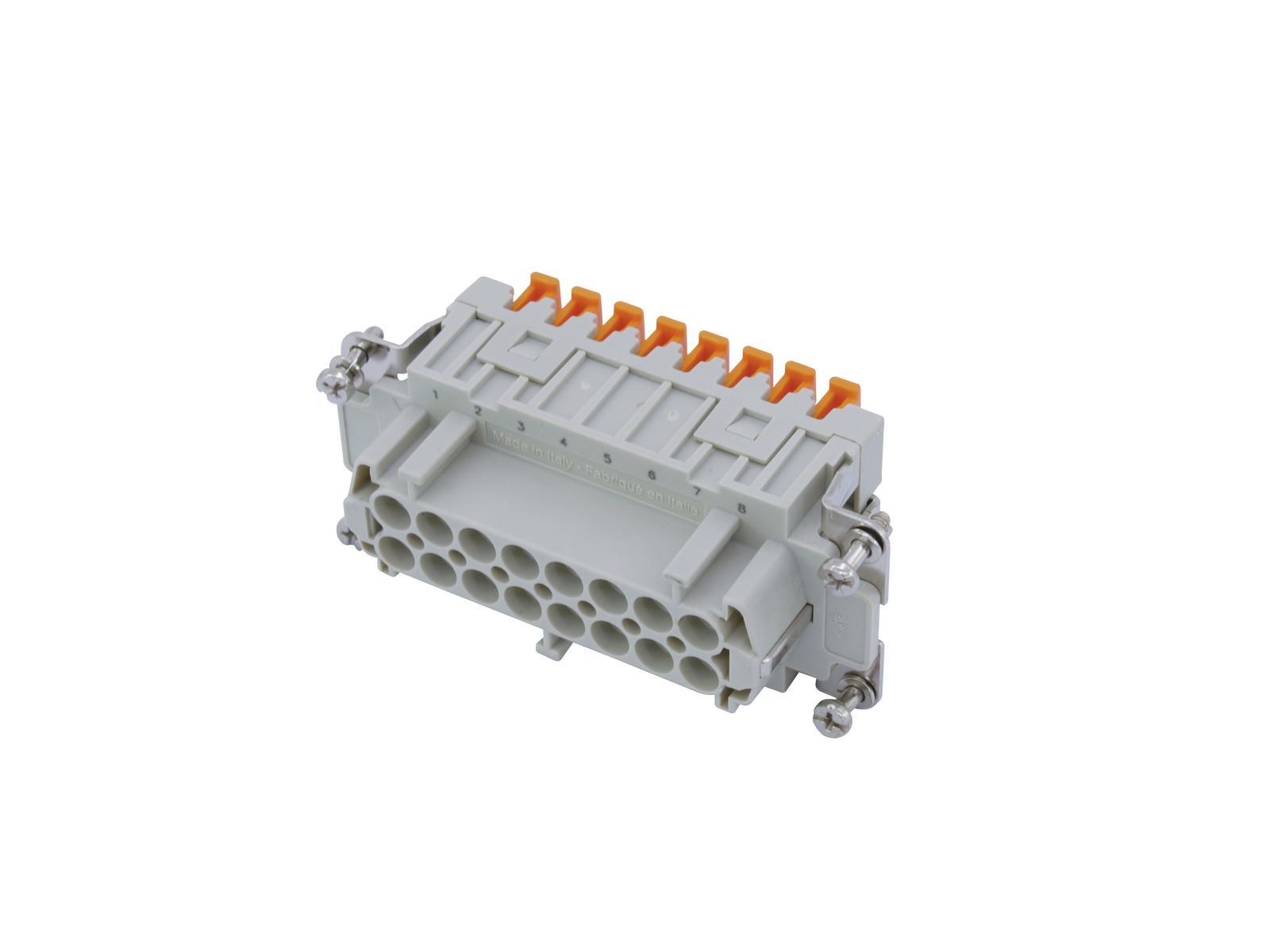 ILME SQUICH Steckdoseneinsatz 16-pol 16A 500V