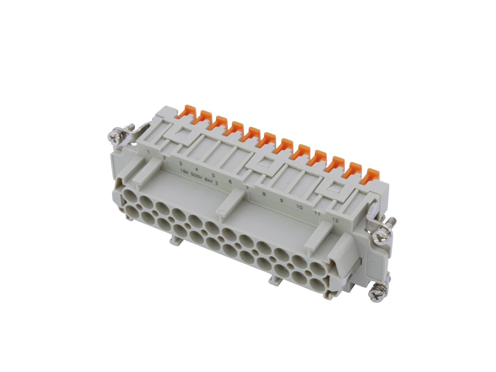 ILME SQUICH Steckdoseneinsatz 24-pol 16A 500V