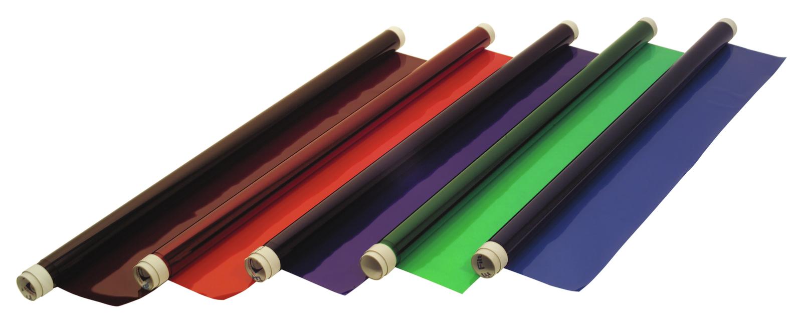 Gelatina Rotolo Foglio Filtro Per Tubo neon 124 117x400cm verde scuro Eurolite