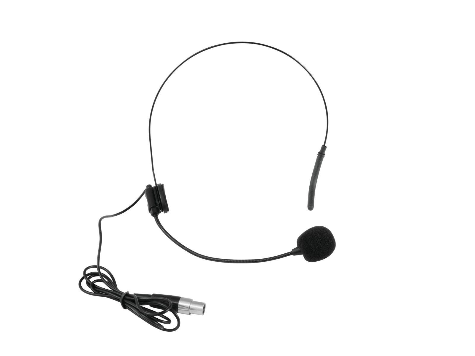 Microfono ad archetto Headset OMNITRONIC UHF-502