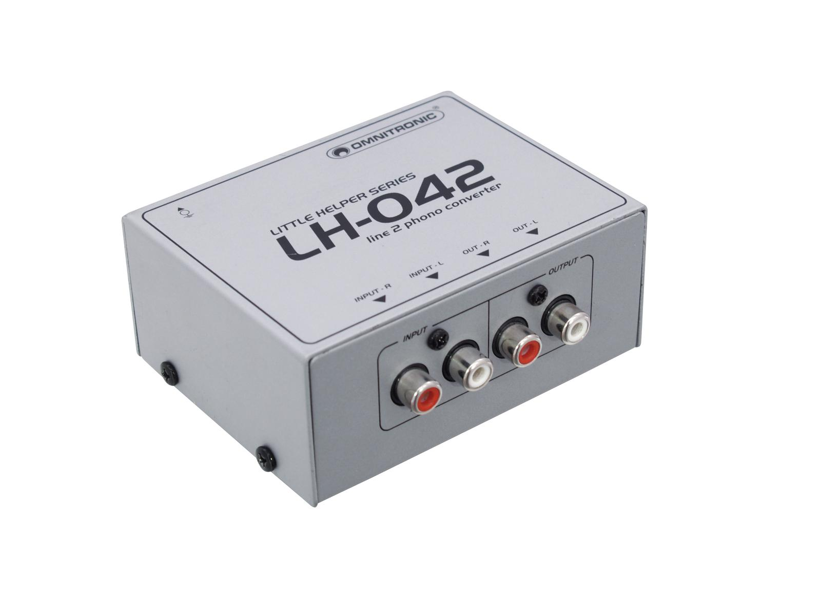 OMNITRONIC LH-042 Line/Phono-Wandler