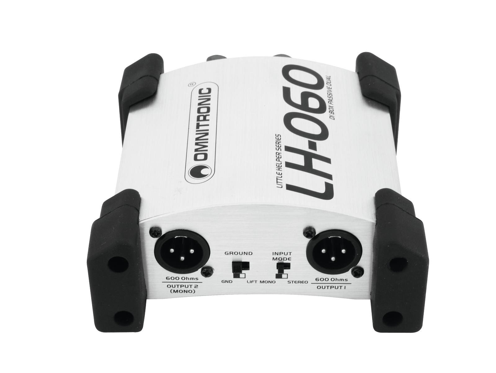 OMNITRONIC LH-060 PRO Duale DI-Box passiv