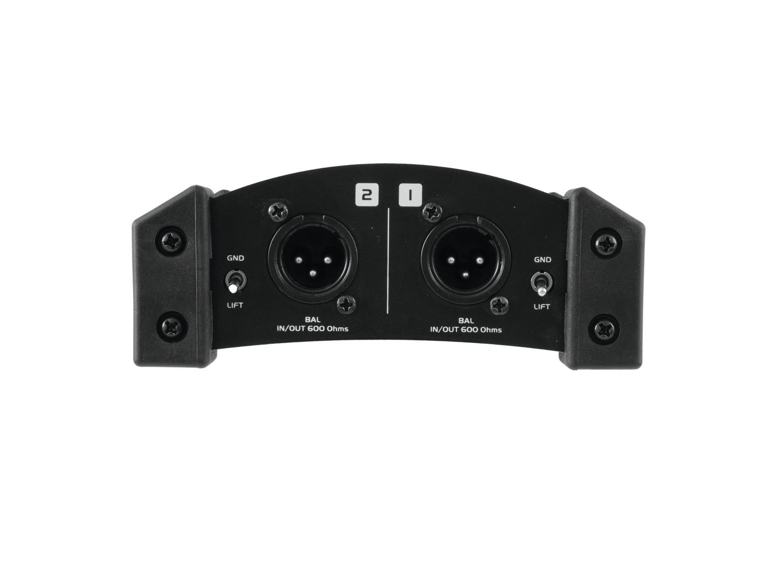 OMNITRONIC LH-061 PRO Passivo DI doppio box