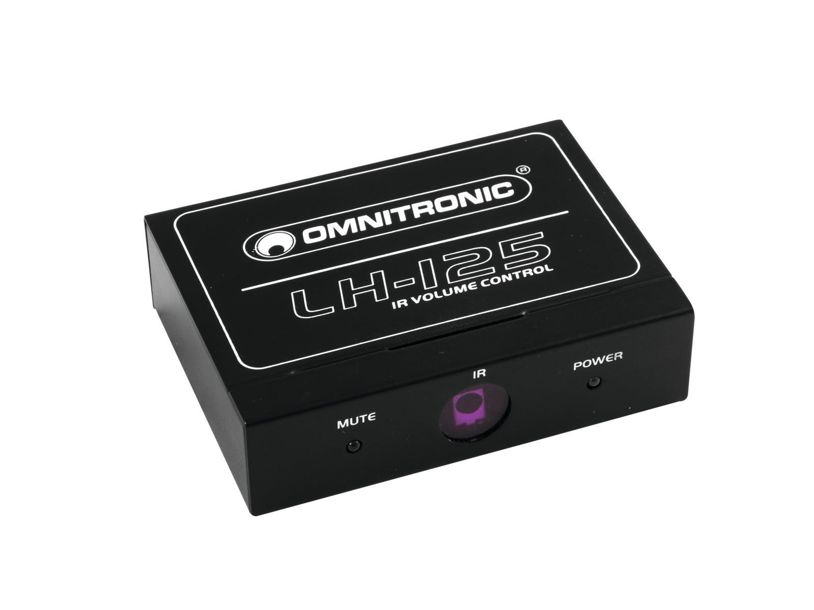 OMNITRONIC LH-125 IR-Lautstärkeregler
