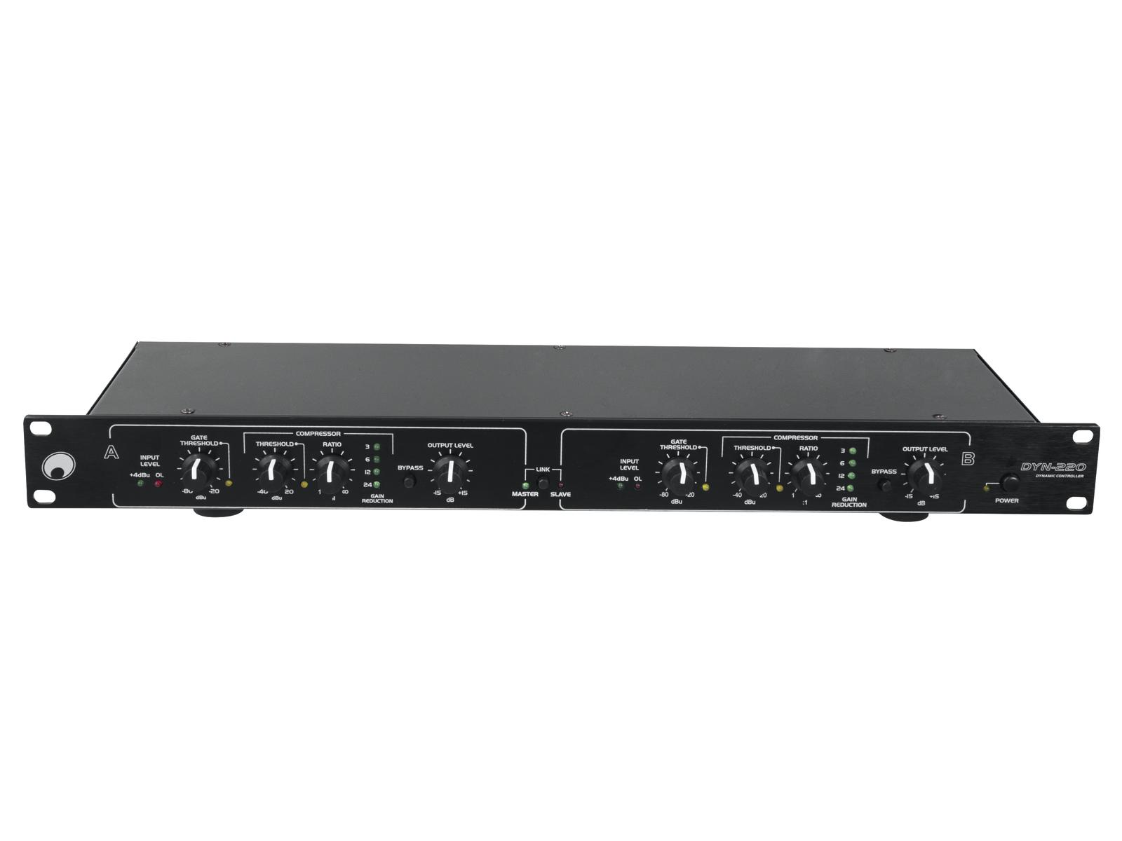 OMNITRONIC DYN-220 Kompressor/Limiter