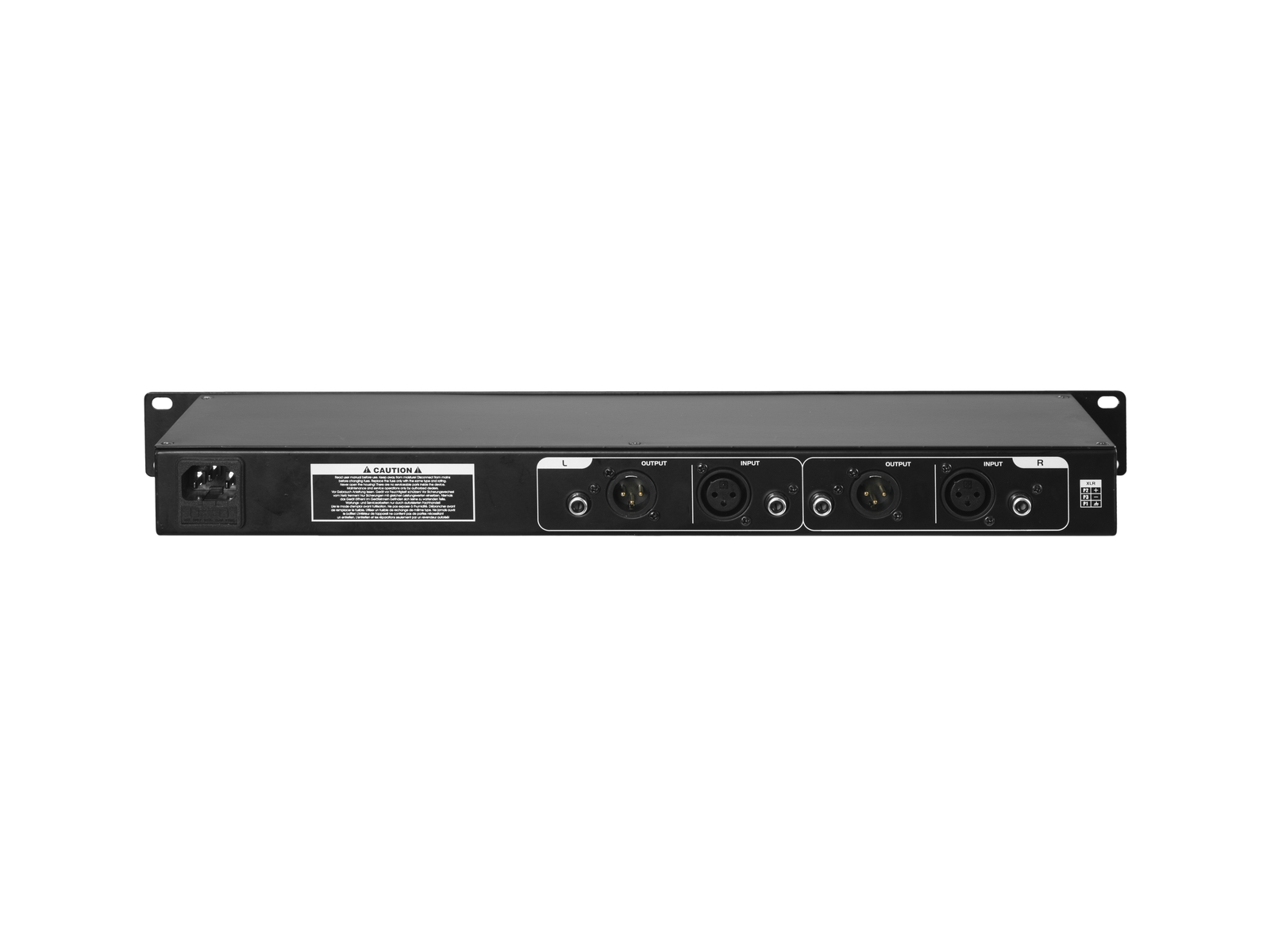 OMNITRONIC EQ-25 MK2 DJ-Equalizer