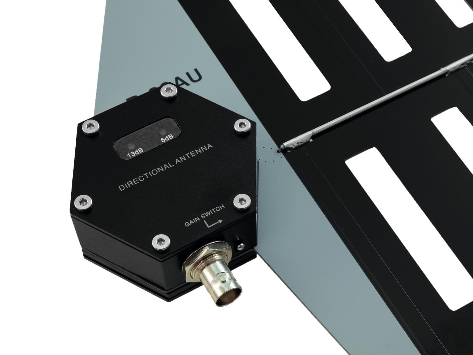RELACART R-22AU Breitband-Richtantenne aktiv 2x