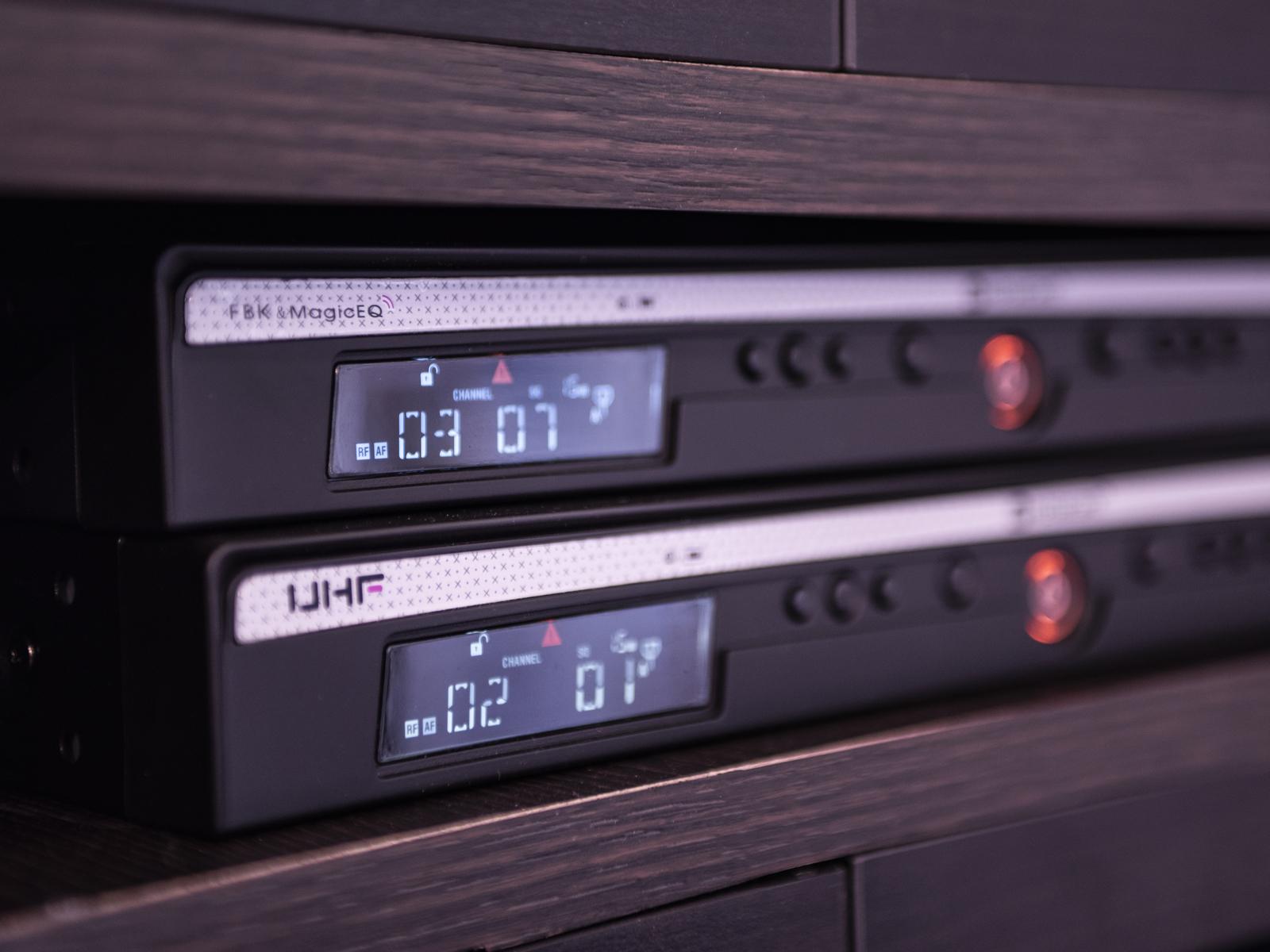 RELACART UR-260D 2-Kanal-UHF-Empfänger